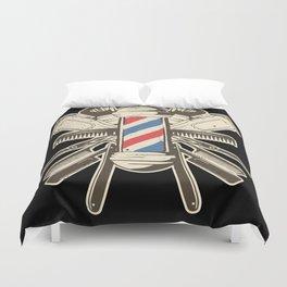 Barber Accessories | Beard Hairdresser Duvet Cover