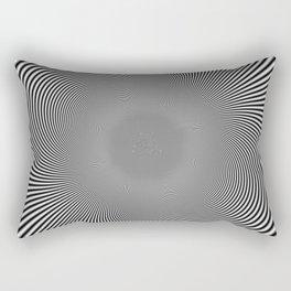 moire patterns II Rectangular Pillow