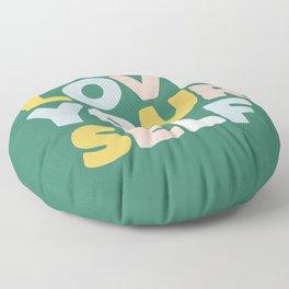 Love Yourself Floor Pillow