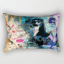 Artistic OI  - Albert Einstein II Rectangular Pillow