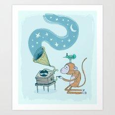 'Night Sounds' Art Print