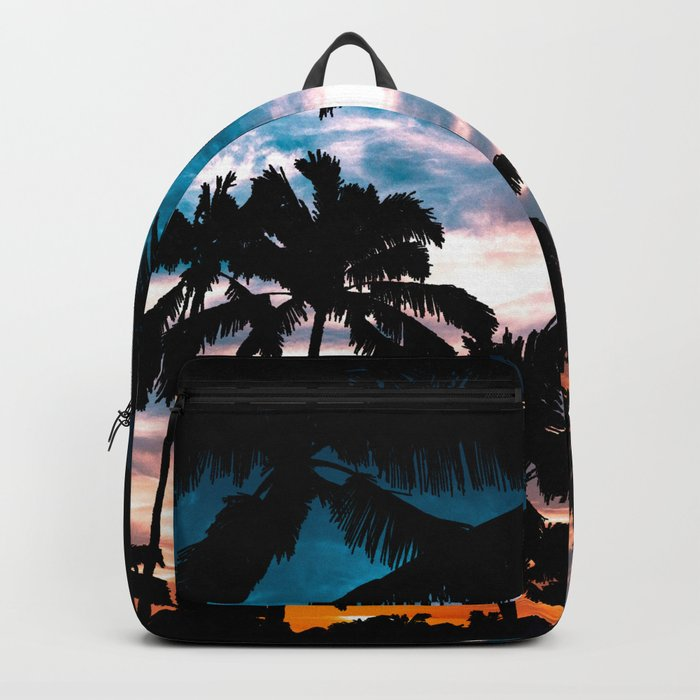 Palm trees dream Backpack