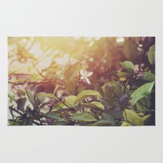 Lemon Flowers Rug