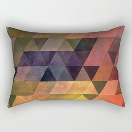 Graphic // isometric grid // chyynxxys Rectangular Pillow