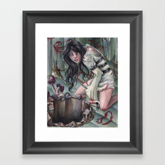 Torture of Wonderland  Framed Art Print