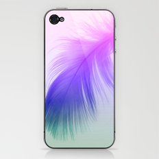 Painted Feather iPhone & iPod Skin