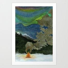 Alaskan Wilderness Art Print