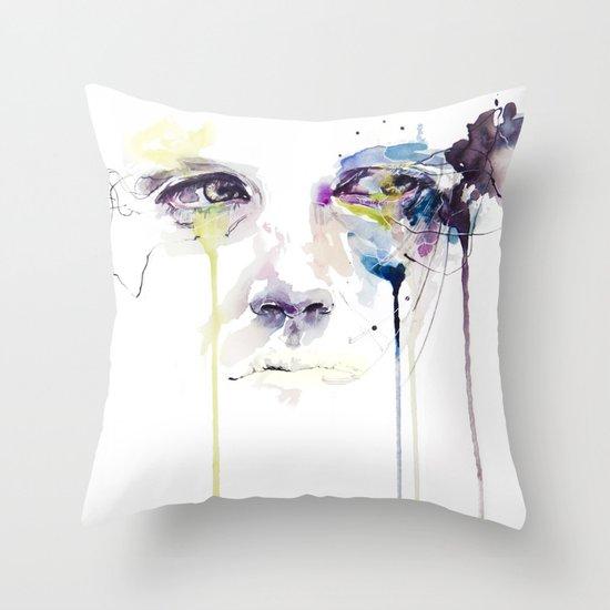 ill vision Throw Pillow