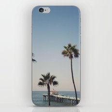 Manhattan Beach Pier iPhone & iPod Skin