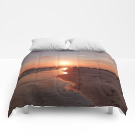Siesta Key Sunset Comforters