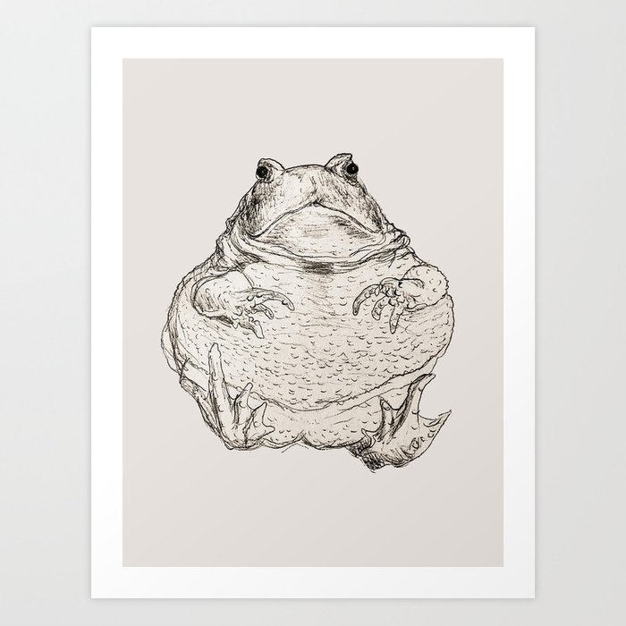 Draw Me Like One Of Your French Frogs Art Print