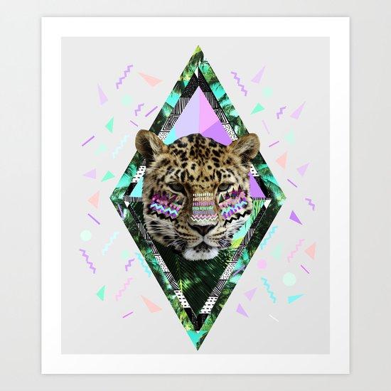 ▲SAFARI WAVES▲ Art Print
