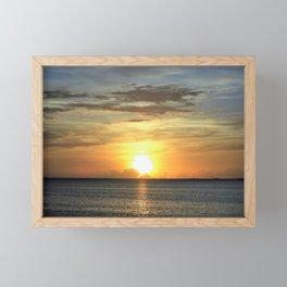 Sunrise 2 Framed Mini Art Print