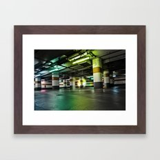 Parking Garage Framed Art Print