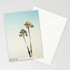 Palm Tree Beach  Stationery Cards