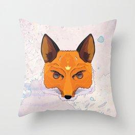 M R S . F O X Throw Pillow