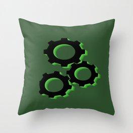 Crank It Up Throw Pillow