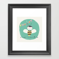 Boris Bee Framed Art Print