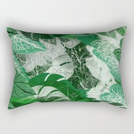 Tropical leaves Rectangular Pillow