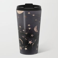 Constellations  Metal Travel Mug