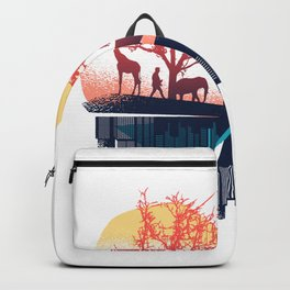 The Heart Beats For The Big City And The Nature Backpack
