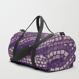 stone tile 4378 ultra violet Duffle Bag
