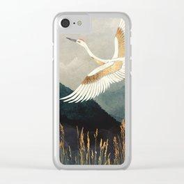 Elegant Flight Clear iPhone Case