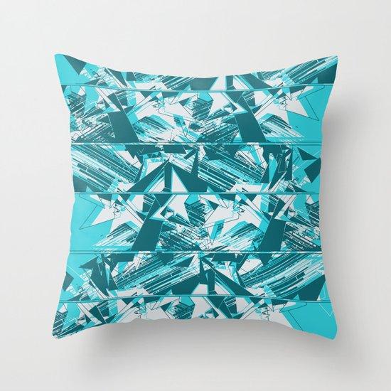 Disarrange  Throw Pillow