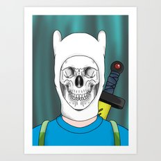 Finnished With Life Clear Art Print