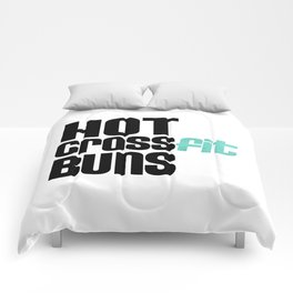 Hot Crossfit Buns Comforters