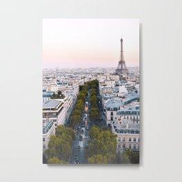 Paris City Metal Print