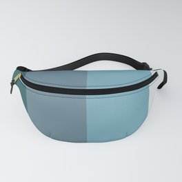 Parable to Behr Blueprint Color of the Year and Accent Colors Vertical Stripes Fanny Pack