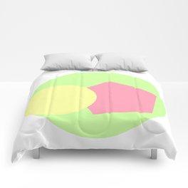 geometric vibe / Comforters