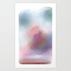 The Sky Part 2 Art Print