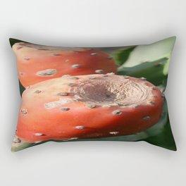 Prickly Pear Cactus Fruit - Indian Fig  Rectangular Pillow