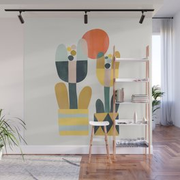 Two flowers Wall Mural
