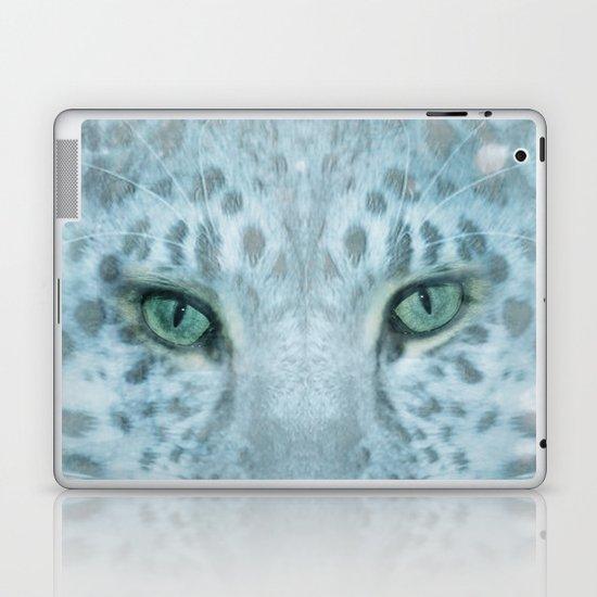 Snow Leopard day Laptop & iPad Skin