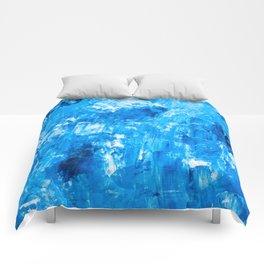 Marine oil art pattern Comforters