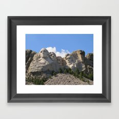Big Heads Framed Art Print