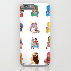 Reading fictional characters Slim Case iPhone 6s