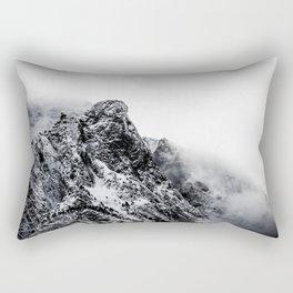 Mountain black white 5 photo Rectangular Pillow