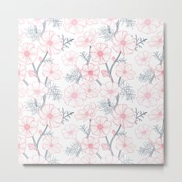 Anemone Flowers Metal Print