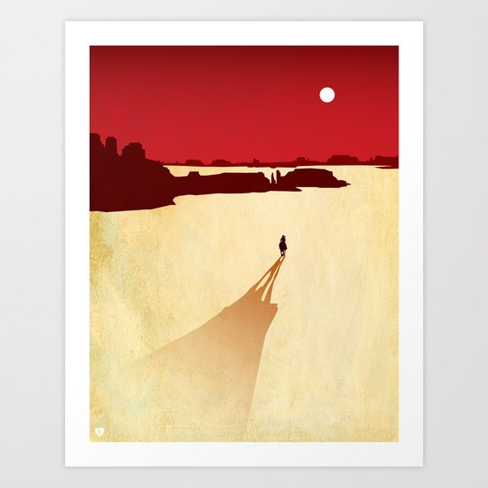 Top 3 Games 2010: Red Dead Redemption Art Print