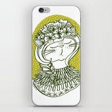 Spring Cat Lady  iPhone & iPod Skin