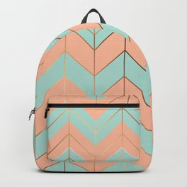 Marble Geometry 059 Backpack