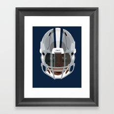Faces- Dallas Framed Art Print