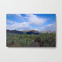 Move Mountains Metal Print