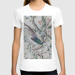 Antique Chinoiserie with Bird T-shirt