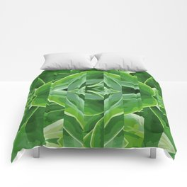 green cut Comforters