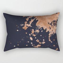 Dark Splotch Rectangular Pillow